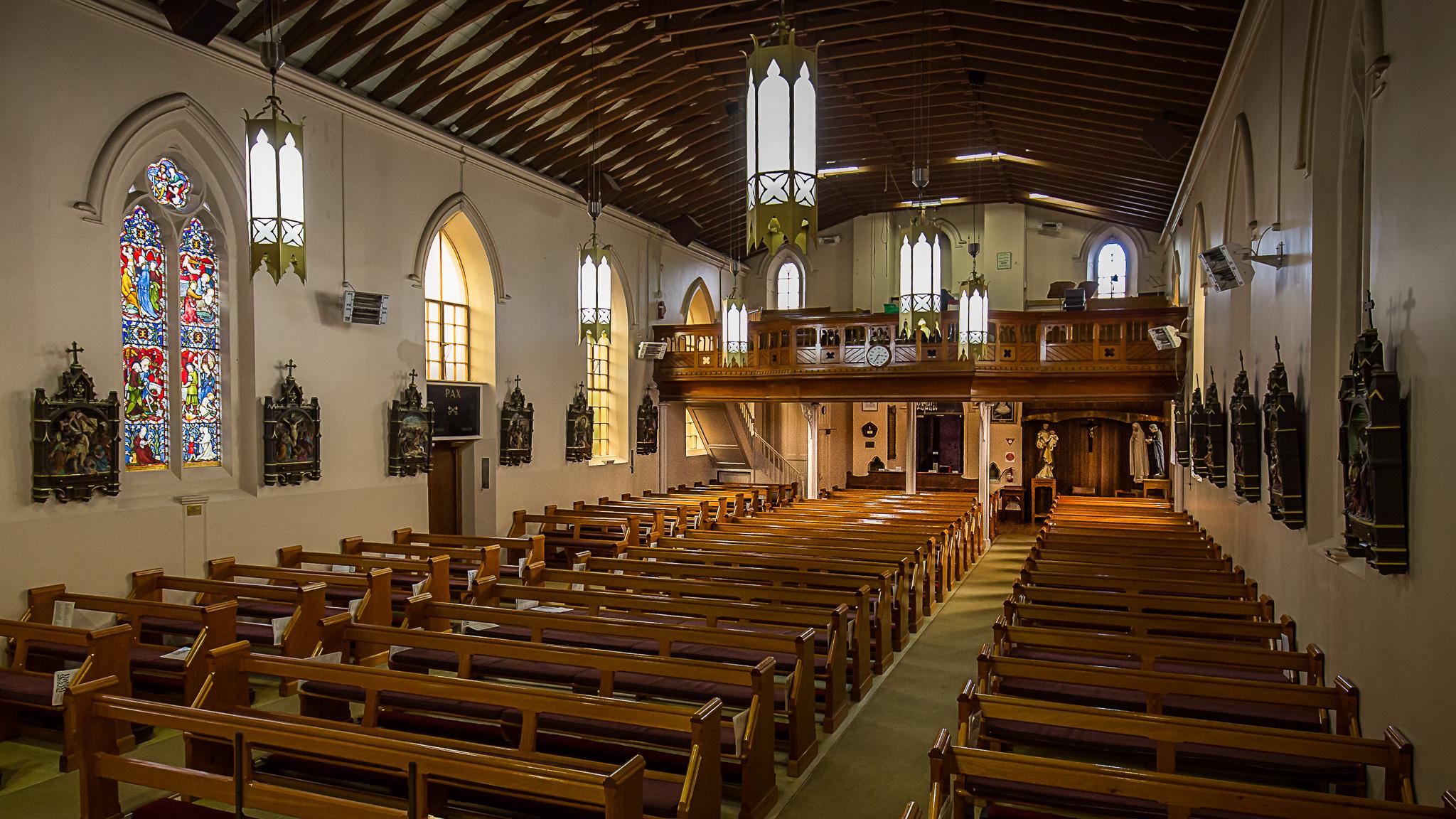 Church body from ambo – Hobart Catholic Parish – St ...